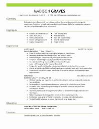 Personal Hair Stylist Resume Examples - Visit To Reads