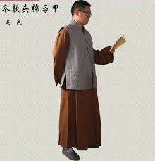 Robes New <b>Winter Plus Cotton</b> Clothes Coats Vest Zen Buddhist ...