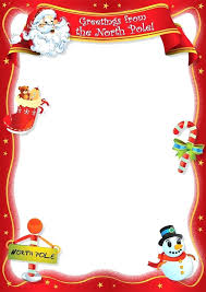 Free Blank Letter From Template New Calendar Site Santa Claus Canada