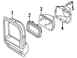 dodge truck parts mopar parts jim s auto parts 1981 1990 dodge pickup rectangular headlamps single