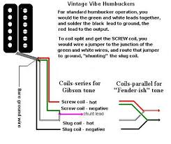 deaf eddie's collection of drawings and info Dual Humbucker Coil Tap Wiring vintage vibe four conductor humbucker Coil Tap Wiring- Diagram