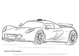29 Supercar Coloring Pages Coloring Pages