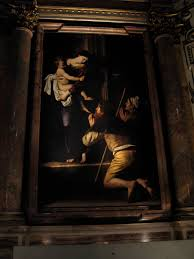 a huge fan of caravaggio s paintings we made a scavenger hunt of the city looking for the many churcheuseums where his paintings are located