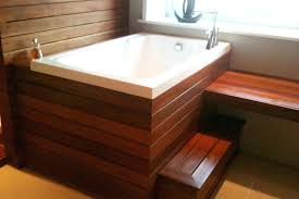 diy soaking tub soaking tub wood the nirvana deep soaking tub in a wooden surround wood diy soaking tub
