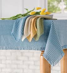french country tablecloths blue