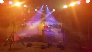 Diy Stage Lighting Rig My 80s Technology Stage Lighting Rig Youtube