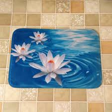 Pretty Lotus Starfish Design Carpets Thick Anti Slip Carpets Floor ...