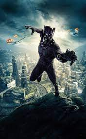 Black panther marvel ...