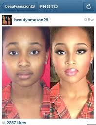 black women before and after makeup 100 dramatic makeup transformations on insram