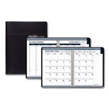 Callendar Planner Doolittle Weekly Monthly Tabbed Calendar Planner Black 2020 Hod28302