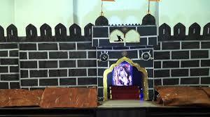 Easy Forts To Build Chatrapati Shivaji Maharaj Fort Decoration Builtio Youtube