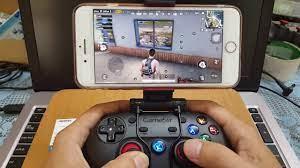 Tay cầm chơi game PUBG Mobile cho IOS iphone ipad không cần JB - YouTube