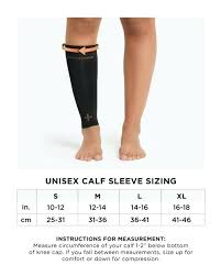 Calf Size Chart Tommie Copper Size Chart Knee Hostingssi Com Co