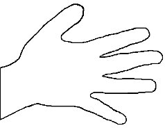 Hand Outline Printable Free Download Best Hand Outline