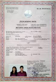 Wedding Certificate Template Awesome How To Get Married Legally In Bali