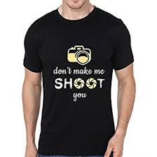 Sleeve T-shirts Atrangi in Printed Half Quote Accessories amp; Amazon Photography Store Cotton Mens Clothing