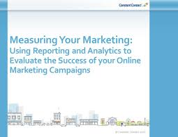 marketing analytics measuring your marketing using reporting and analytics to evaluate the success of your marketing campaigns ppt alewebsite measuringmarketing