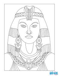 Cleopatra Queen Of Egypt For Kids Coloring Pages