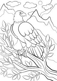 coloring pages of mountains west mountain lion animal wild birds cute free landscapes