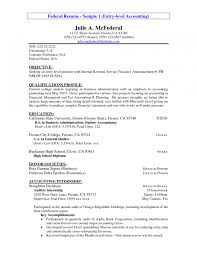 Objectives For The Resume Objective Examples General Accountant