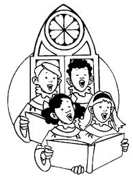 Small Picture Singing in Church coloring page Free Printable Coloring Pages