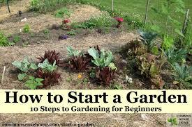 how to start a garden bed. Beautiful Garden Planted Garden Beds With How To Start A Garden Bed