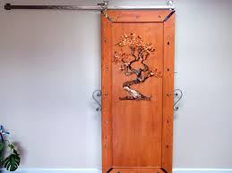 Artistic Door Design Handmade Custom Rolling Barn Doors Recycled Art By Junk A