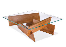 glass wood coffee tables