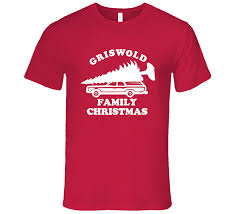 Family Christmas Funny Car Tree Ugly Christmas Sweater T Shirt