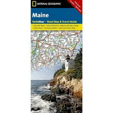 Maine Road Map And Travel Guide