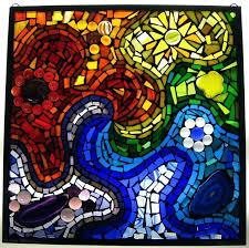 stained glass mosaic zoom stained glass mosaic mirror frame