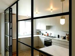 steel glass doors in a renovated mews home in a steel frame wall by replaced a steel glass doors
