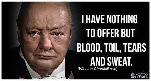 Winston Churchill said (Mottos 46) - Motto Cosmos