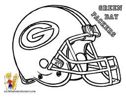 Green Bay Packers Coloring Page