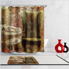 Michael Jackson Pattern Waterproof Thickening Bath Curtains 3d Shower Curtain for Bathroom Custom with 12 x C-type Hooks
