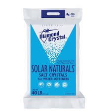 Home Water Conditioner Diamond Crystal Solar Naturals Water Softener Salt Crystals