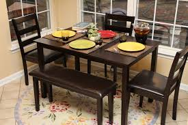 Image Trendy Dining Dining Room Small Black Dining Table And Chairs Black And White White Kitchen Table And Bench Solidbluebiz Dining Room Small Black Dining Table And Chairs Black And White