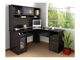 corner desk for home office. Outstanding Corner Desk With Shelves Home Office Black  Wooden Drawers Corner Desk For Home Office A