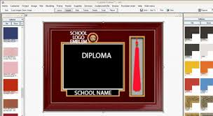 example of an upgraded frame package with tassel logo name and 8 10 diploma size s vary based on frame design chosen and size number of elements to