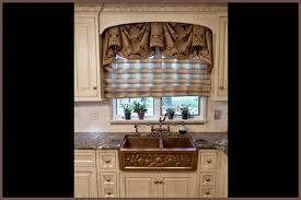 rustic kitchen window treatments design ideas