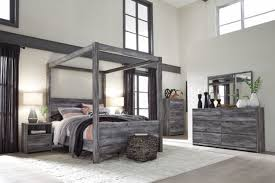 Ashley Furniture Baystorm Queen Canopy 5 Piece Bedroom Set B221 for ...