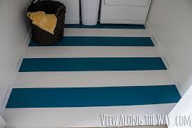 how to paint vinyl or linoleum flooring