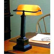 desk lamp with green shade traditional bankers amber mahogany fresh replacement stats nz f