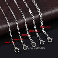 snless steel necklace chain jewelry manufacturer in china