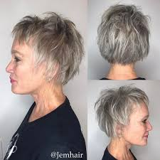 Grey Hairstyles 42 Awesome 24 Flattering Short Haircuts For Older Women In 24