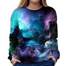 Abstract Colors Womens Sweatshirt Products Sweatshirts