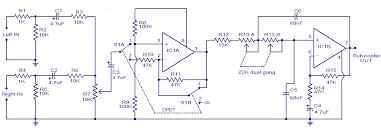 subwoofer speaker u0026amp amp wiring diagrams kicker hd tl072 car subwoofer filter circuit audio wiring diagram
