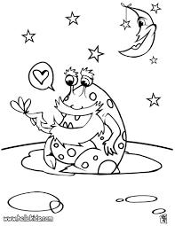 Coloring Pages Alien Coloring Page Alien