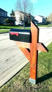 mailbox post plans.  Mailbox Mail Box Post Design Mailbox Plans Posts The Man  Custom Wood And L
