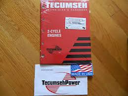 NEW Tecumseh engine 2cycle Engine Repair service manual jiffy ice ...